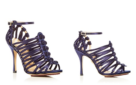 Charlotte Olympia Women's Diva Satin Strappy High Heel Sandals - Bloomingdale's_2