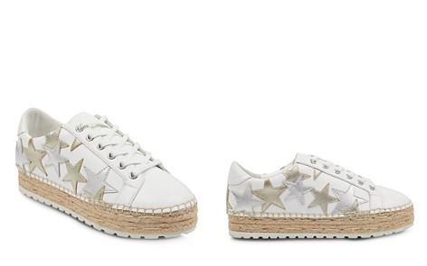 Marc Fisher LTD. Women's Maevel Leather Lace Up Espadrille Platform Sneakers - Bloomingdale's_2