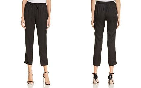 T by Alexander Wang Striped Silk Jacquard Jogger Pants - Bloomingdale's_2