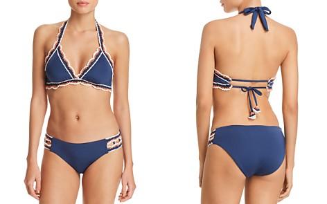 BECCA® by Rebecca Virtue Medina Halter D Cup Bikini Top & Medina Split Tab American Bikini Bottom- Bloomingdale's_2