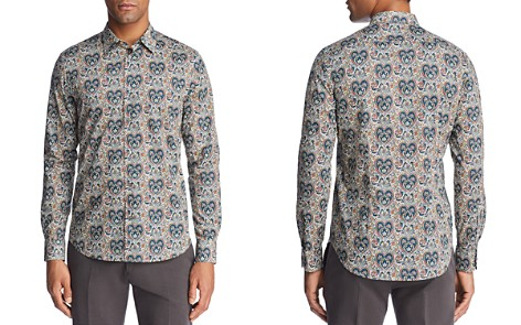 Paul Smith Liberty Print Floral Slim Fit Button-Down Shirt - Bloomingdale's_2