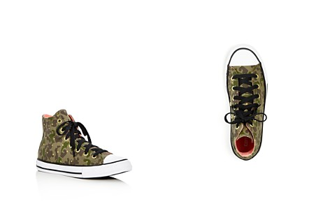 Converse Girls' Chuck Taylor All Star Camo Print High Top Sneakers - Toddler, Little Kid - Bloomingdale's_2