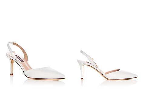 SJP by Sarah Jessica Parker Women's Bliss Leather Slingback Kitten Heel Pumps - 100% Exclusive - Bloomingdale's_2