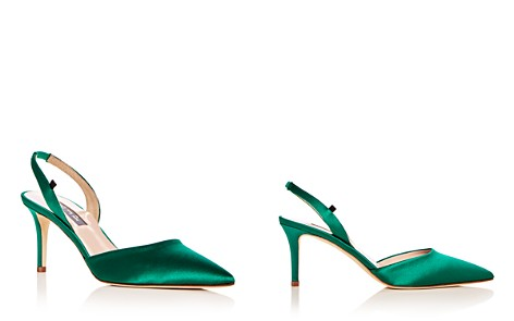 SJP by Sarah Jessica Parker Women's Bliss Satin Slingback Kitten Heel Pumps - 100% Exclusive - Bloomingdale's_2