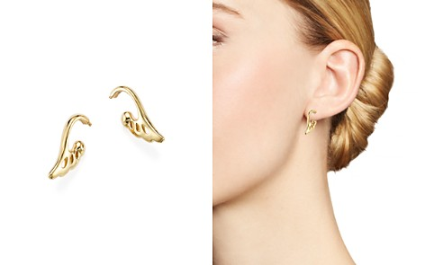 Temple St. Clair 18K Yellow Gold Wing Drop Earrings - 100% Exclusive - Bloomingdale's_2