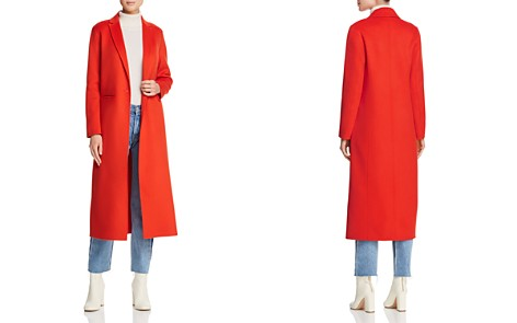 Maje Galaxia Single-Button Long-Line Coat - Bloomingdale's_2