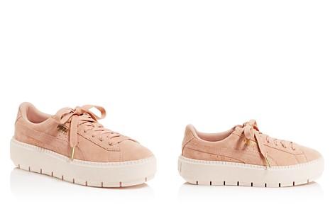 PUMA Women's Trace Suede Platform Sneakers - Bloomingdale's_2