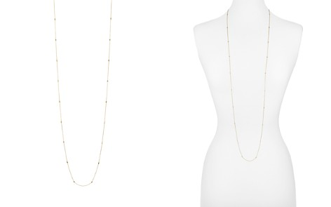 "AQUA Sterling Silver Thin Chain Necklace, 48"" - 100% Exclusive - Bloomingdale's_2"