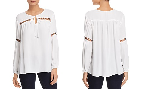 Love Scarlett Embellished Peasant Top - Bloomingdale's_2