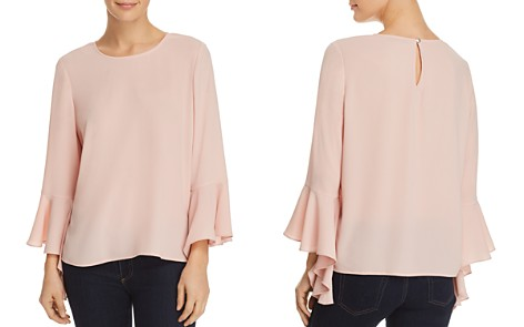 VINCE CAMUTO Cascade Bell-Sleeve Top - 100% Exclusive - Bloomingdale's_2