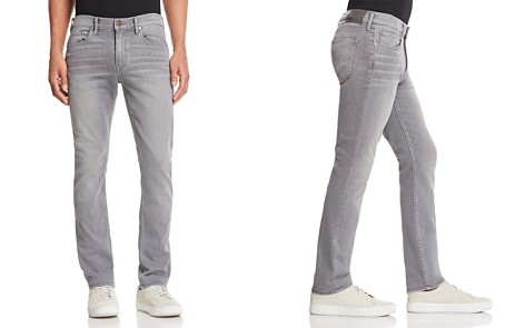 PAIGE Transcend Lennox Slim Fit Jeans in Annex - Bloomingdale's_2