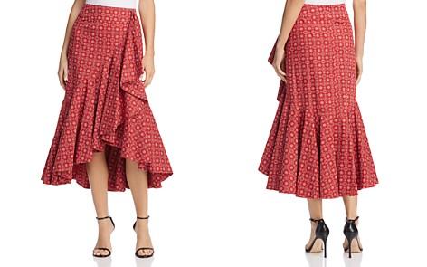 PETERSYN Vanessa Ruffle Skirt - Bloomingdale's_2
