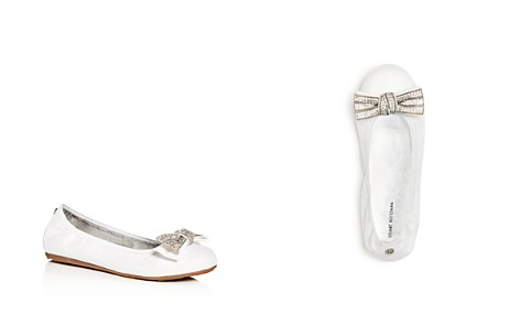 Stuart Weitzman Girls' Fannie Glitter Bow Ballet Flats - Toddler, Little Kid, Big Kid - Bloomingdale's_2