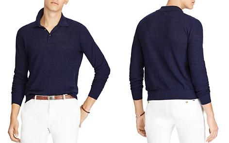 Polo Ralph Lauren Cotton-Linen Polo Sweater - Bloomingdale's_2