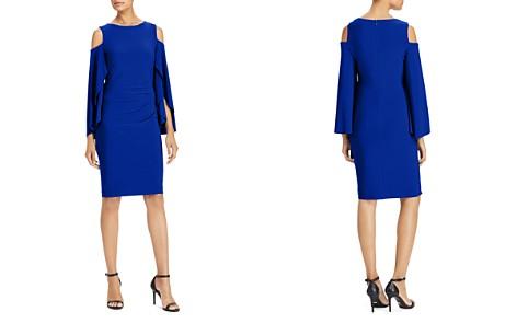 Lauren Ralph Lauren Petites Cold-Shoulder Dress - Bloomingdale's_2