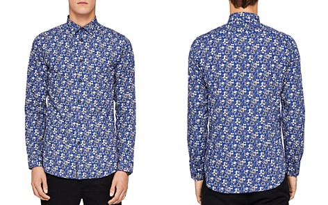 Ted Baker Bellla Printed Floral Regular Fit Button-Down Shirt - Bloomingdale's_2