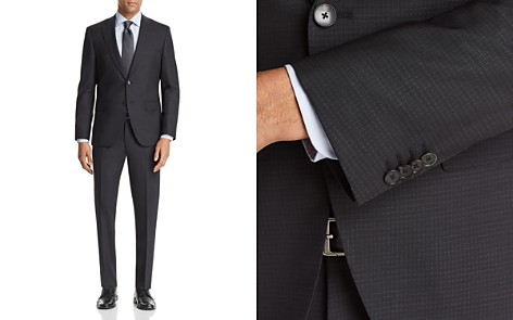 BOSS Johnstons/Lenon Regular Fit Check Suit - Bloomingdale's_2
