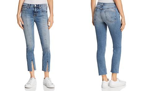 Hudson Nico Straight Slit-Hem Jeans in Moxie - Bloomingdale's_2