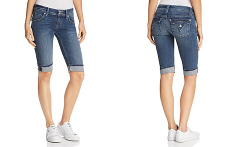 Hudson Palerme Denim Shorts in Alabaster Dazed - Bloomingdale's_2