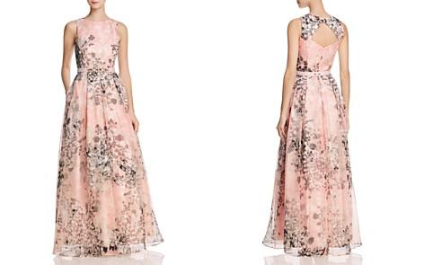 Eliza J Organza Floral Gown - Bloomingdale's_2