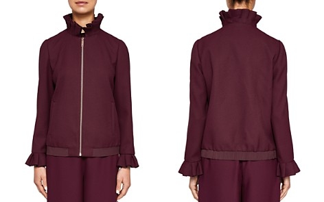 Ted Baker Ted Says Relax Lydiah Ruffled Bomber Jacket - Bloomingdale's_2