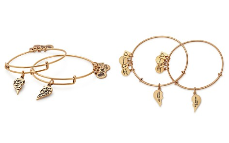 Alex and Ani Best Friends Expandable Wire Bangles, Set of 2 - Bloomingdale's_2
