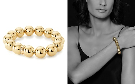 LAGOS Caviar Gold Collection 18K Gold Beaded Stretch Bracelet, 15mm - Bloomingdale's_2