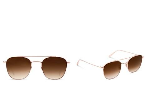 Krewe Earhart Gradient Aviator Sunglasses, 53mm - Bloomingdale's_2