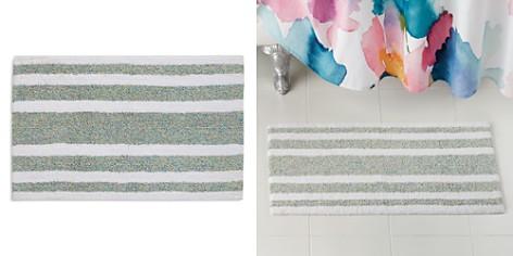 bluebellgray Mingled-Stripe Bath Rug - Bloomingdale's_2