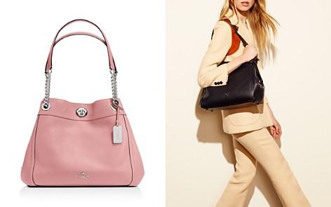 COACH Turnlock Edie Shoulder Bag in Pebble Leather - Bloomingdale's_2