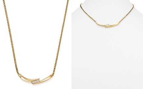 Bloomingdale's Diamond Statement Necklace in 14K Yellow Gold, 0.75 ct. t.w. - 100% Exclusive _2