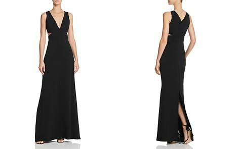 Laundry by Shelli Segal Plunging Cutout Gown - 100% Exclusive - Bloomingdale's_2