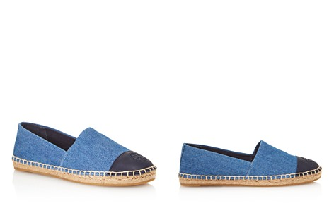 Tory Burch Women's Denim Color-Block Cap Toe Espadrilles - Bloomingdale's_2