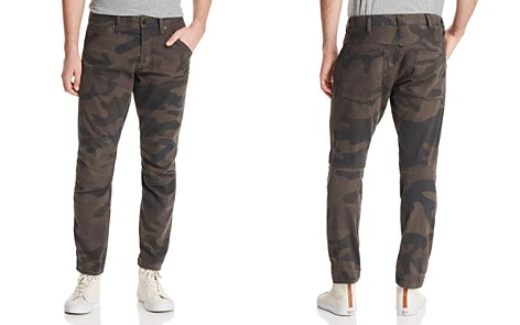 G-STAR RAW Moto Slim Fit Jeans in Camouflage - 100% Exclusive - Bloomingdale's_2