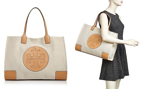Tory Burch Ella Canvas Tote - Bloomingdale's_2