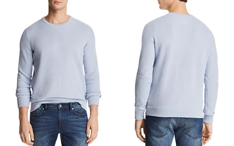 The Men's Store at Bloomingdale's Birdseye Cotton Sweater - 100% Exclusive_2