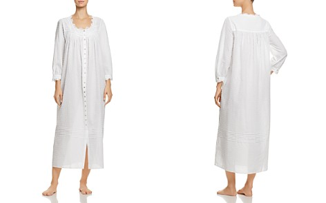 Eileen West Buttoned Ballet Long Gown - 100% Exclusive - Bloomingdale's_2