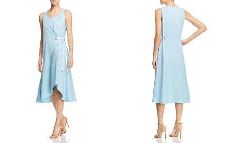 Heipina Faux-Wrap Rope-Tie Dress - 100% Exclusive - Bloomingdale's_2