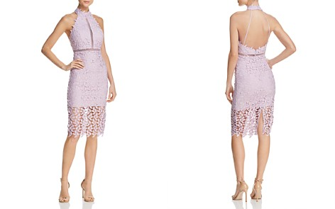 Bardot Gemma Lace Halter Dress - Bloomingdale's_2