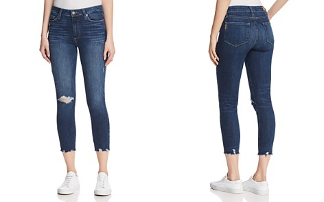 Paige Hoxton Crop Distressed-Hem Jeans in Danton Destructed - Bloomingdale's_2