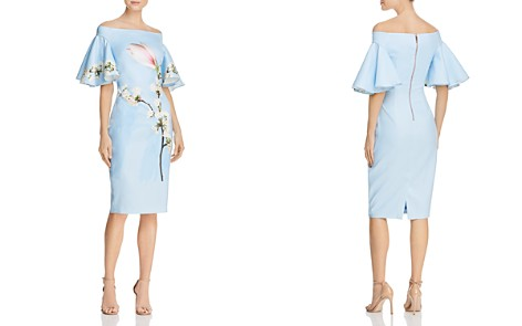 Ted Baker Lauraen Harmony Off-the-Shoulder Dress - 100% Exclusive - Bloomingdale's_2