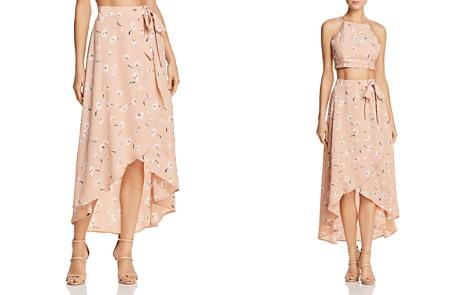 PPLA Sophina Floral-Print Wrap Skirt - Bloomingdale's_2
