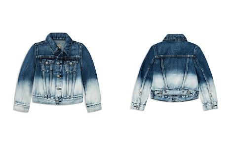 Polo Ralph Lauren Girls' Dip-Dyed Denim Jacket - Little Kid - Bloomingdale's_2