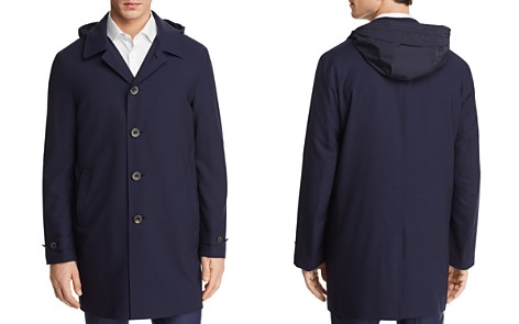 Canali Impeccabile Detachable Hood Raincoat - Bloomingdale's_2