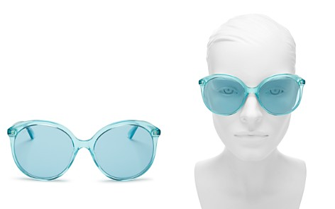 Gucci Women's Monocolor Round Sunglasses, 59mm - Bloomingdale's_2