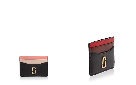 MARC JACOBS Snapshot Color-Block Embossed Leather Card Case - Bloomingdale's_2