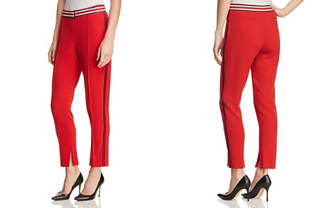 T Tahari Bruna Belted Side-Stripe Pants - Bloomingdale's_2