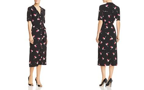 Leota Leaf Print Midi Shirt Dress - Bloomingdale's_2