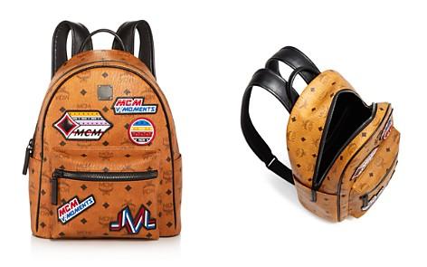 MCM Stark Victory Patch Visetos Backpack - Bloomingdale's_2