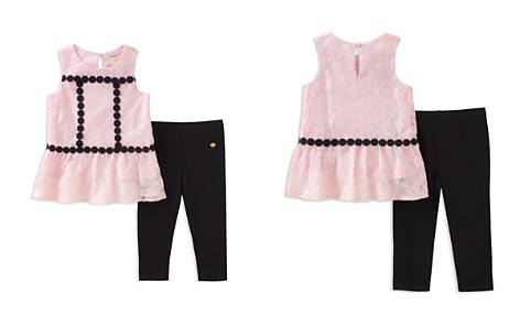kate spade new york Girls' Floral Mesh Top & Leggings Set - Baby - Bloomingdale's_2